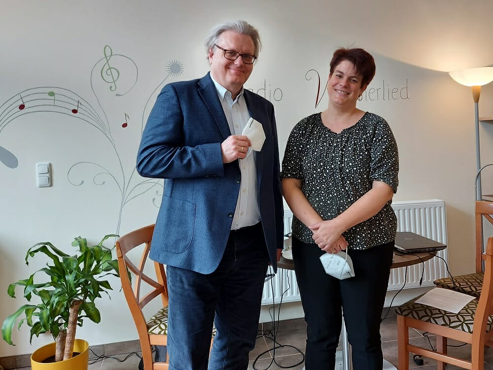 Dr. Wolfgang Stanicek, Bosworth, Zu Gast bei, Radio Wienerlied, Marion Zib