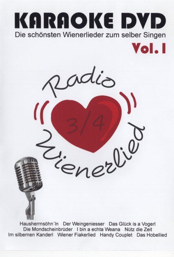 Karaoke, DVD, für DVD Player, Wienerlieder, Radio Wienerlied, Zib