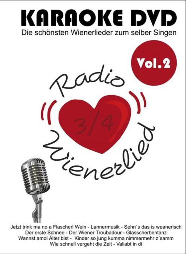 Karaoke, DVD Player, Wienerlieder, mitsingen, Radio Wienerlied, Marion und Erich Zib