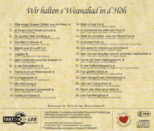 Franz Pelz, Norbert Beyer, Erich Zib, Radio Wienerlied
