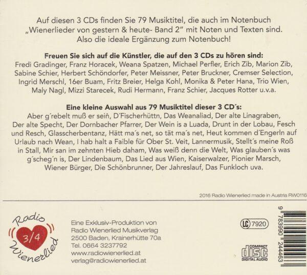 Wienerlieder von gestern und heute, Band 2, Zib, Radio Wienerlied