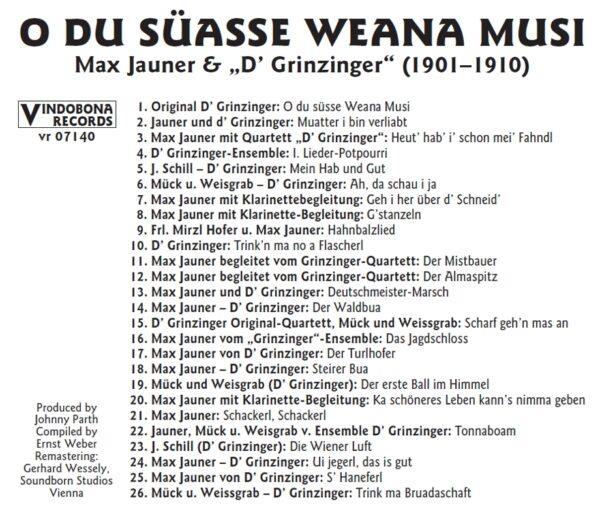 Max Jauner, Basilisk, historisch, Schellack, Radio Wienerlied