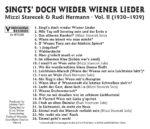 Mizzi Starecek, Rudi Hermann, Basilisk, historisch, Schellack, Radio Wienerlied