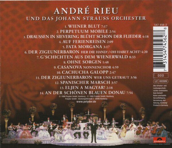Andre Rieu, Johann Strauß Orchester, 100. Geburtstag, Klassik,