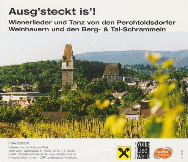 Perchtoldsdorfer Weinhauer, Wienerlied, Tanz, Berg- und Talschrammeln, Maria Walcher, Volksliedwerk