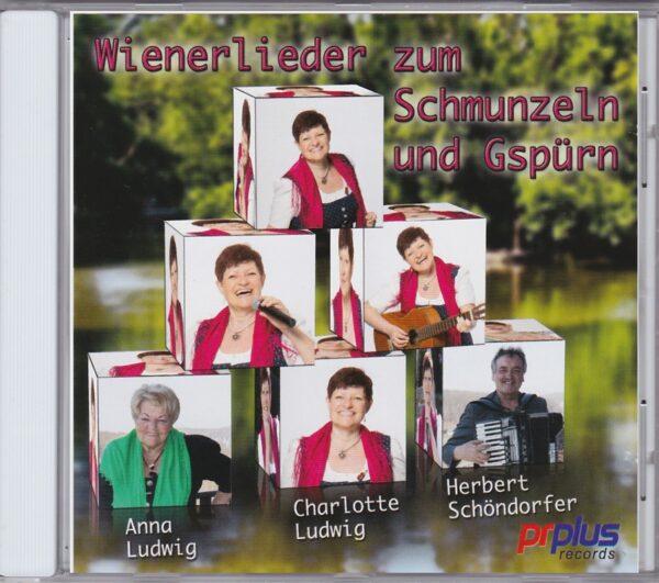 Charlotte Ludwig, Schöndorfer, Anna Ludwig, Wienerlied, CD