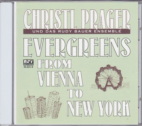 Evergreens, Christl Prager, Rudy Bauer Ensemble, CD