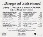 Christl Prager, Walter Heider, Malat Schrammeln, Wienerlied, CD