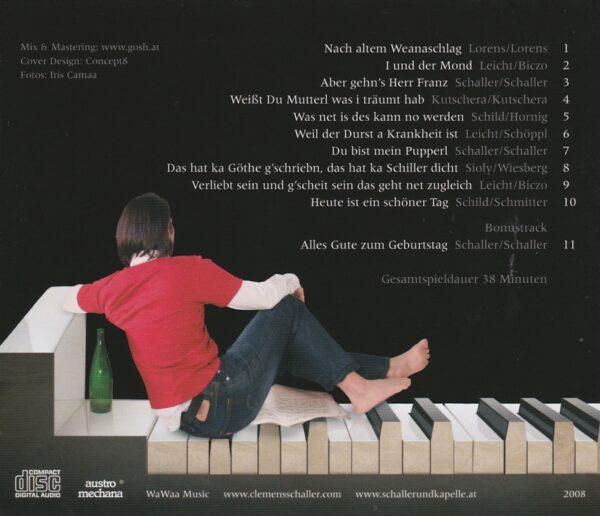 Clemens Schaller, Klavier, CD