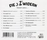 3 Zwidern, lustig, instrumental, Gstanzln, CD
