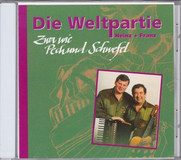 Die Weltpartie, Heinz Gruenauer, Franz Eder, CD