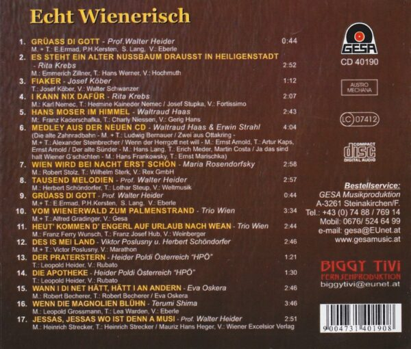 TV Sendung, Heider, Krebs, Oskera, Live, CD, Gesa