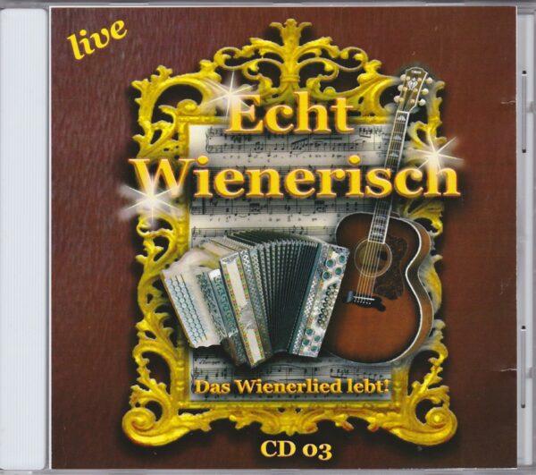 Hans Ecker Trio, Heider, Sobotka, Chmela, Agnes Palmisano, Wienerlied, CD, Gesa