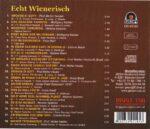 Heider, Kahler, Felix Kerl, Sabine Mach, Grete Bredl, WEana Spatzen, Schubertbund, Wienerlied, CD, TV Sednung, Serie, Gesa