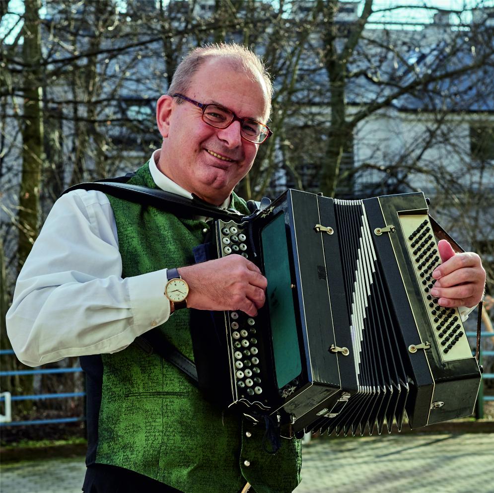 Erich Zib, Moderator, Heurigenmusiker, Radio Wienerlied
