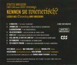 Wienerlied, CD