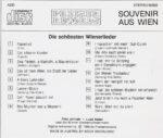 Fritz Jellinek, Luzzi Bayerl, bekannte Wienerlieder, CD, Preiser