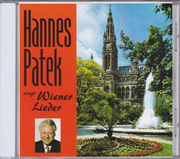Hannes Patek, Wienerlied, CD