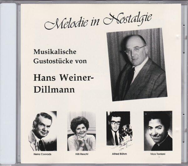 Heinz Conrads, Hilli Reschl, Alfred Böhm, Victor Torriani, Wienerlied, CD