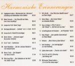 Ein akustischer Rückblick, 50 Jahre Harmonie, CD