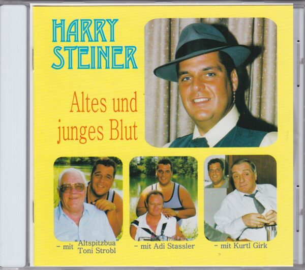 Toni Strobl, Kurt Girk, Adi Stassler, Wienerlied, CD