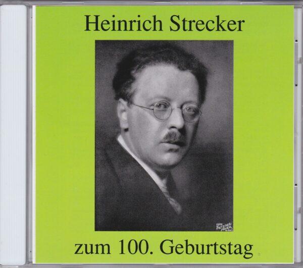 Heinrich Strecker, Imhoff, Hörbiger, Rotter, CD, Preiser