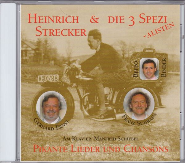 Heinrich Strecker, Gerhard Ernst, Beppo Binder und Franz Suhrada, Manfred Schiebel, CD