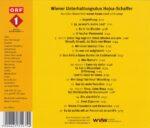 Walter Hojsa, Kurt Schaffer, Wienerlied, CD, ORF