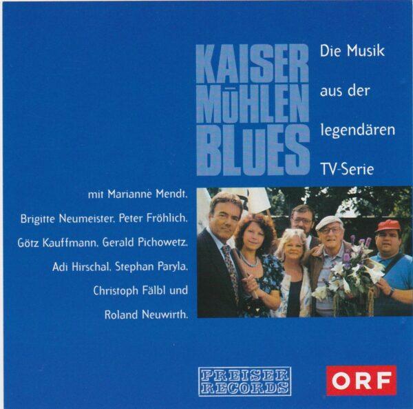 Kaisermühlenblues, Donaustadt, Adi Hirschal, Marianne Mendt, CD zur TV Serie,