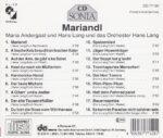 Hans Land, Maria Andergast, CD