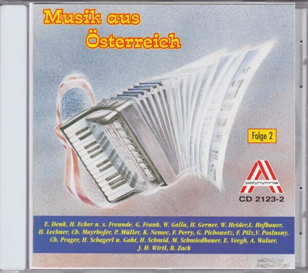 Erich Veegh, Charly Mayerhofer, Günther Frank, Emmy Denk, Poldi MuellerNemec-Hofbauer, Wienerlied, CD