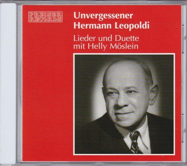 Hermann Leopoldi, Helly Möslein, Duette, Wienerlieder, Powidltaschkerln, CD