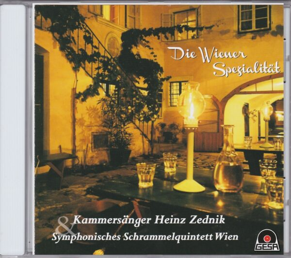 Heinz Zednik, Wienerlied, Johann Schrammel, Taenze, CD, Gesa