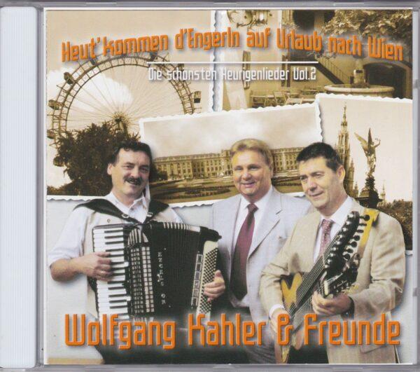 Wolfgang Kahler, Schoendorfer, Poslusny, Wienerlieder, CD