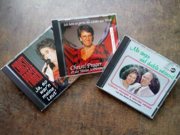 Ich hoere so gern die Lieder aus Wien, Ja so warn meine Leut, Wir singen und dudeln miteinand, Christl Prager, Koenigin des Wienerlieds, Radio Wienerlied, CD