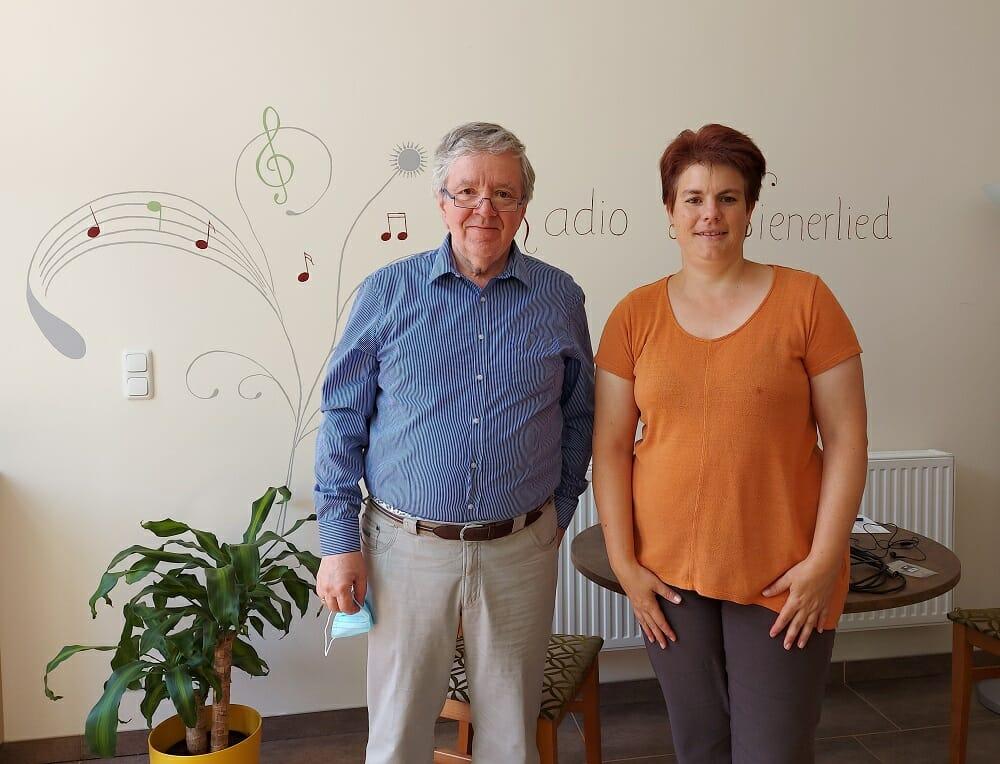 Michael Moessmer, oesterreich Journal, daswienerlied, Zu Gast bei Radio Wienerlied, Marion Zib