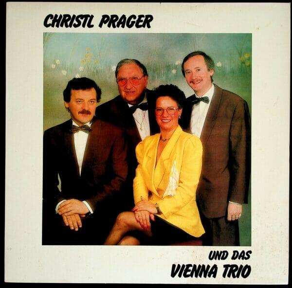 Christl Prager, herbert Schöndorfer, Lothar Steup, Rudi Koschelu, Christl Prager, Wienerlied, Maxi Single, Vinyl
