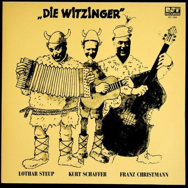 Lothar Steup, Kurt Schaffer, Franz Christmann, Wienerlied, Witz, Schallplatte, Vinyl