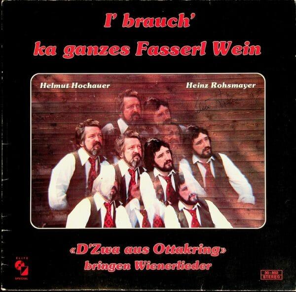 Helmut, Hochauer, Heinz, Rohsmayer, Wienerlied, Schallplatte, Vinyl