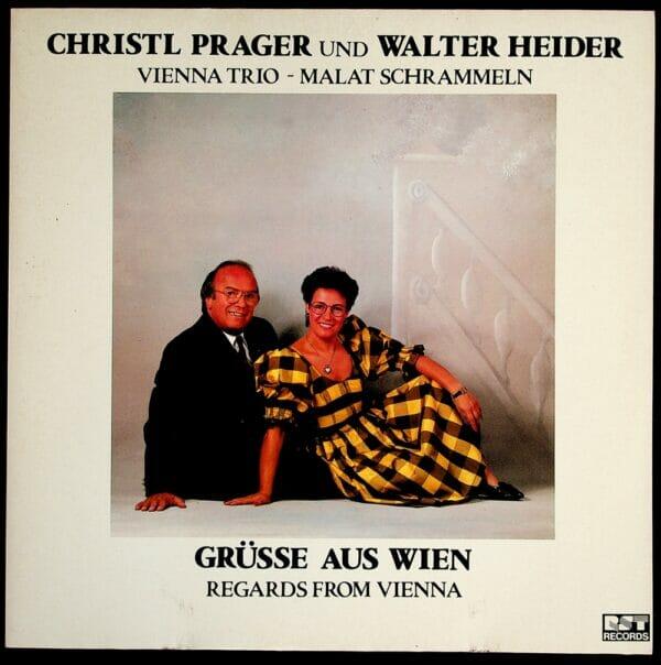 Christl Prager, Walter Heider, Wienerlied, Koenigin, Schallplatte, Vinyl