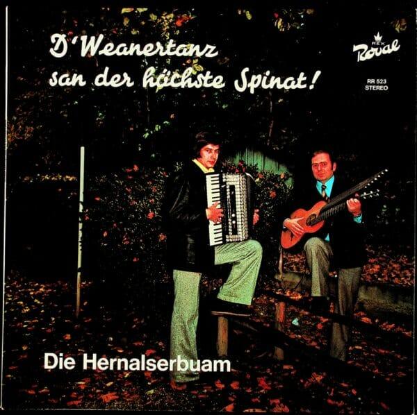 Wienerlied, Heurigenpackl, Harmonika, Kontragitarre, Schallplatte, Vinyl