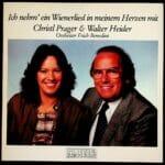 Christl Prager, Walter Heider, Geschwister, Wienerlied, Orchester Erich Benedini, Schallplatte, Vinyl