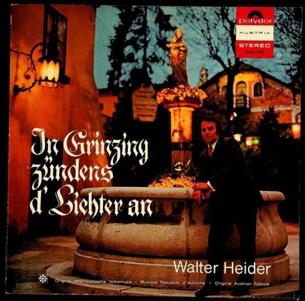 Walter Heider, Wienerlied, Schallplatte, Vinyl
