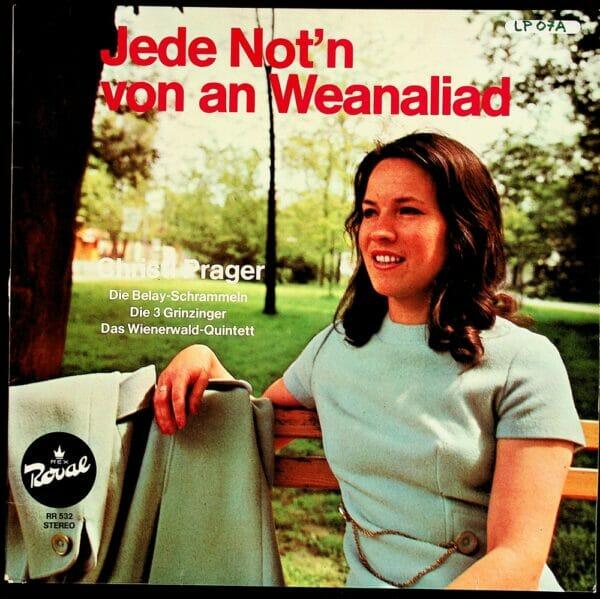 Christl Prager, Wienerlied, Belay-Schrammeln, 3 Grinzinger, Wienerwald Quintett, Schallplatte, Vinyl