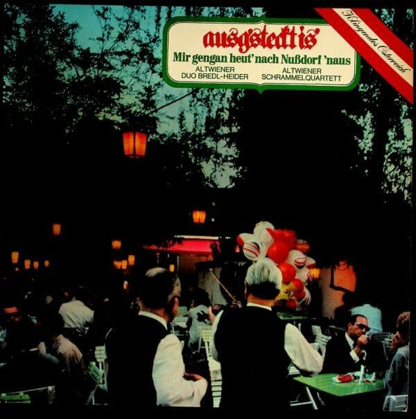 Altwiener Duo, Bredl-Heider, Altwiener, Schrammelquartett, Wienerlied, Schallplatte, Vinyl