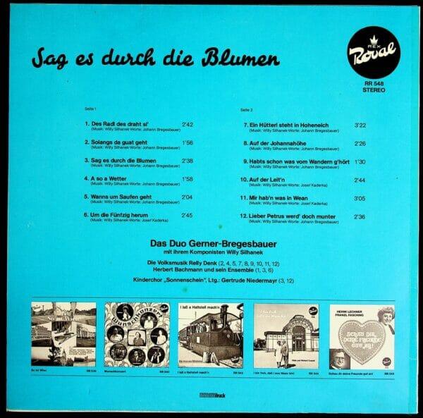 Gerner, Bregesbauer, Silhanek, Wienerlied, Schallplatte, Vinyl
