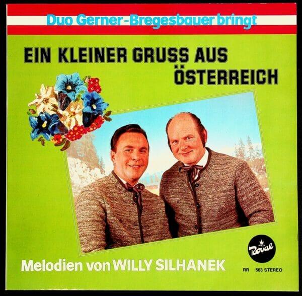 Silhanek, Gerner, Bregesbauer, Wienerlied, Schallplatte, Vinyl