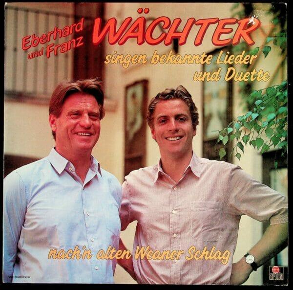 Eberhard, Franz, Waechter, Wienerlied, Schallplatte, Vinyl