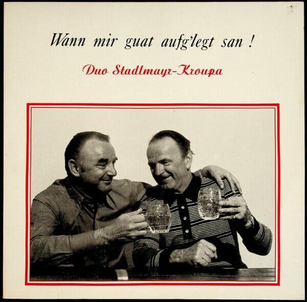 Stadlmayr, Kroupa, Wienerlied, Vinyl, Schallplatte