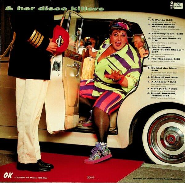 Jazz Gitti, a Wunda, Kraenk di net, Tramway foarn, Schallplatte, Vinyl